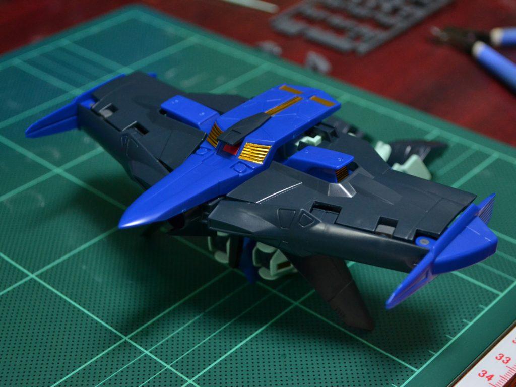HG 1/144 OZ-19MASX ガンダムグリープ 正面