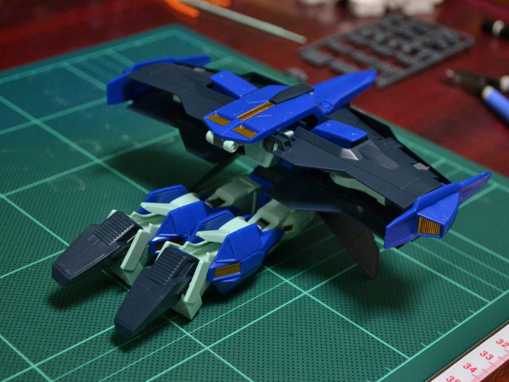 HG 1/144 OZ-19MASX ガンダムグリープ [Gundam Griepe] 背面