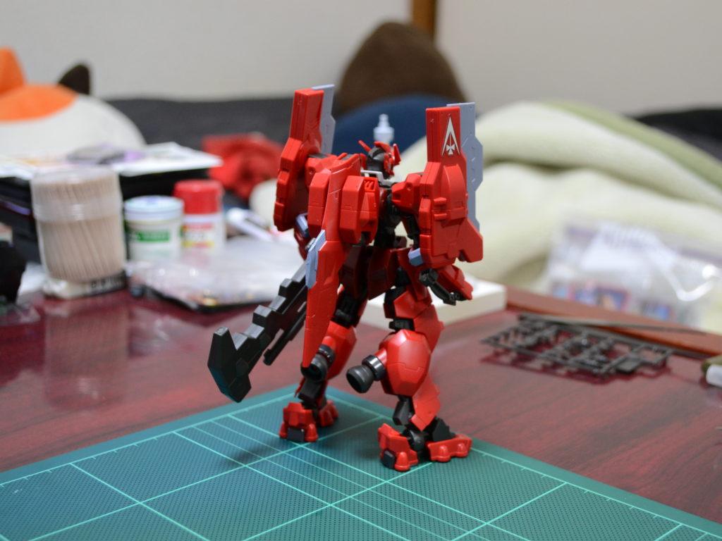 HG 1/144 ASW-G-29 ガンダムアスタロトオリジン [Gundam Astaroth Origin] 背面