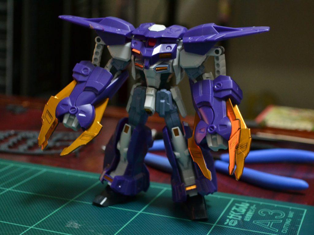 HG 1/144 OZ-10VMSX ガンダムアスクレプオス [Gundam Aesculapius] 正面