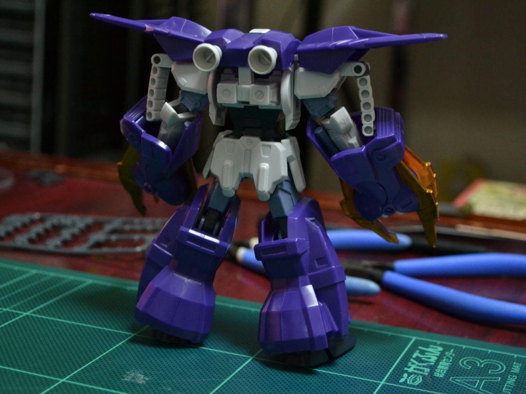 HG 1/144 OZ-10VMSX ガンダムアスクレプオス [Gundam Aesculapius] 背面