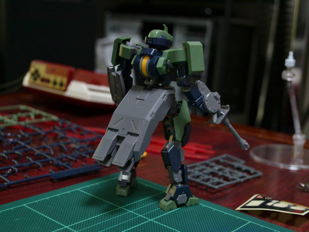 HG 1/144 EB-04 ゲイレール [Geirail] 背面