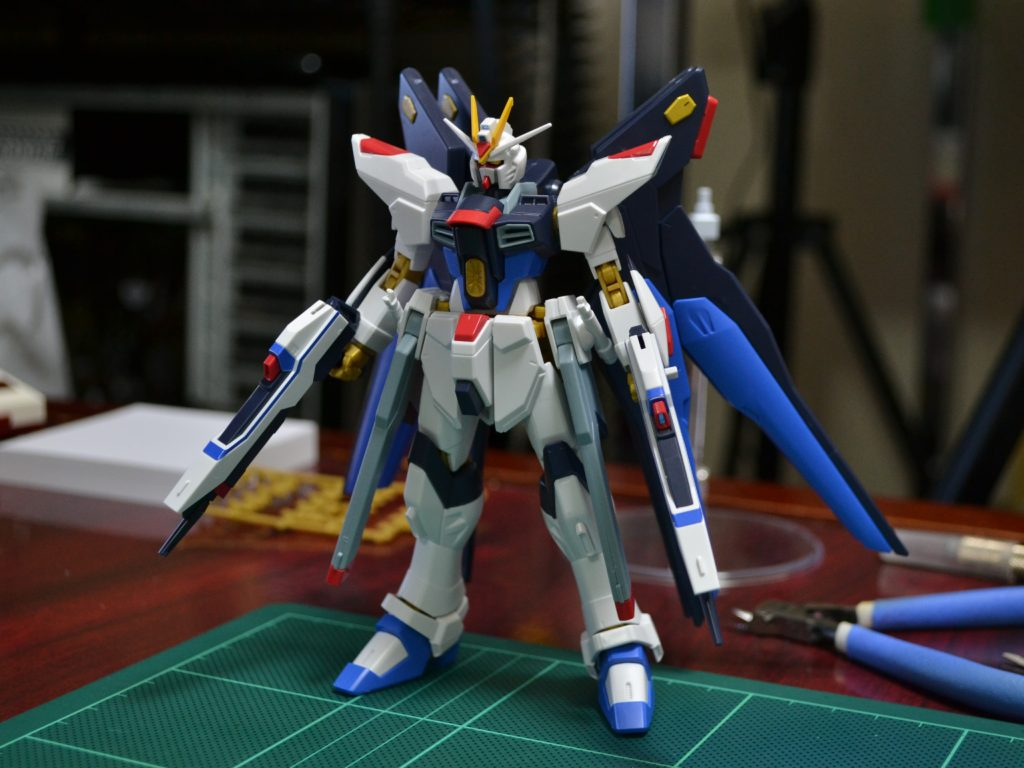 HGCE 1/144 REVIVE ZGMF-X20A ストライクフリーダムガンダム 正面