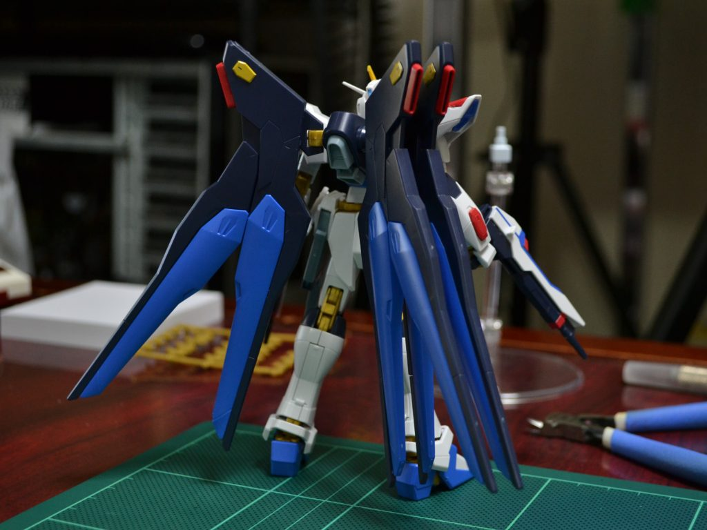 HGCE 1/144 REVIVE ZGMF-X20A ストライクフリーダムガンダム 背面