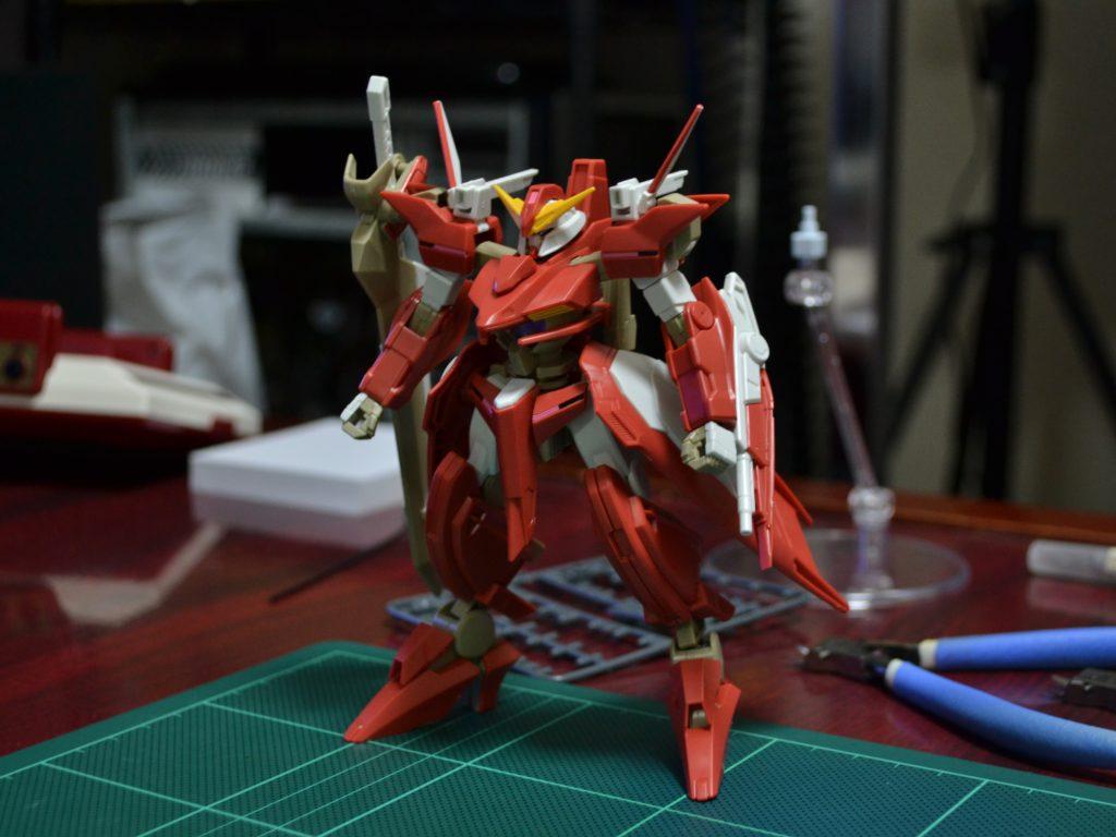 HG 1/144 GNW-002 ガンダムスローネツヴァイ [Gundam Throne Zwei] 正面