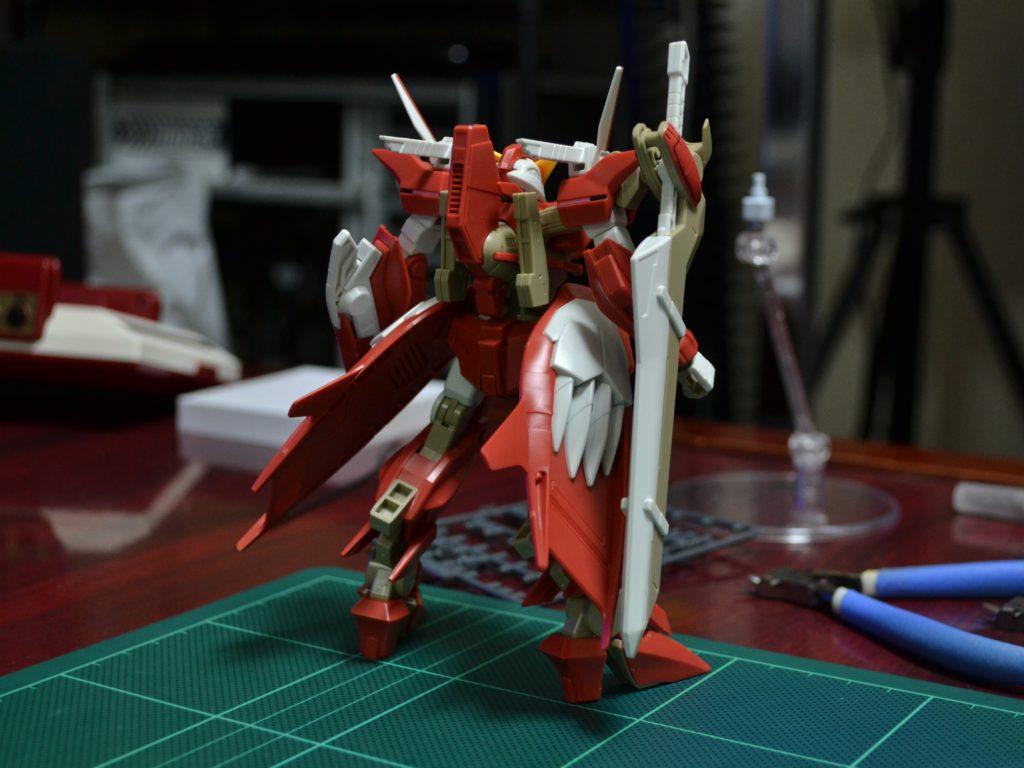 HG 1/144 GNW-002 ガンダムスローネツヴァイ [Gundam Throne Zwei] 背面