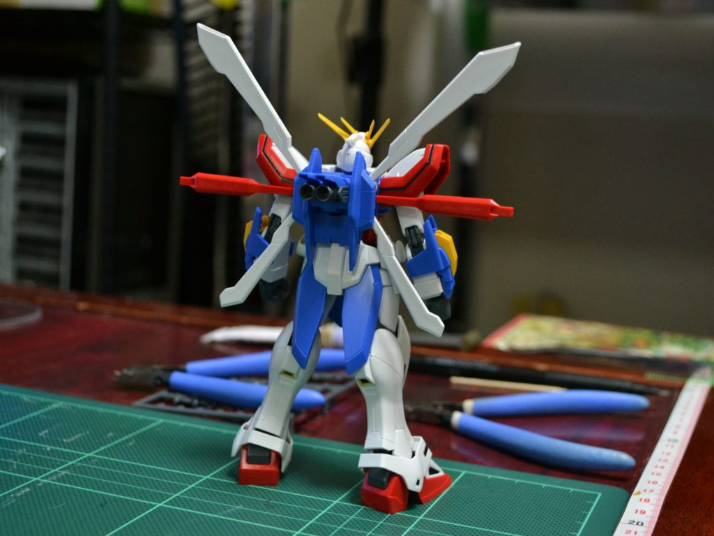 HGFC 1/144 GF13-017NJII ゴッドガンダム [G Gundam] 背面