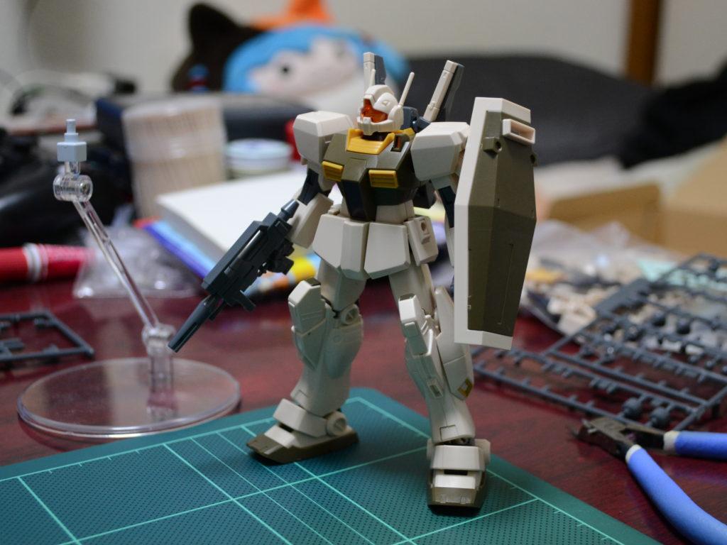 HGUC 1/144 RGM-86R ジムIII(ユニコーンデザートカラーVer.) 正面