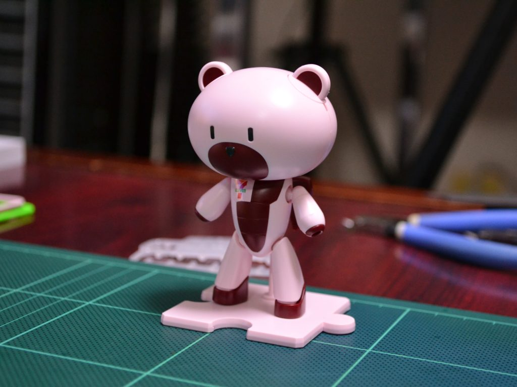 HGPG 1/144 プチッガイセット「セブン・イレブンカラー」[PETIT'GGUY SET Seven-Eleven Color] 正面