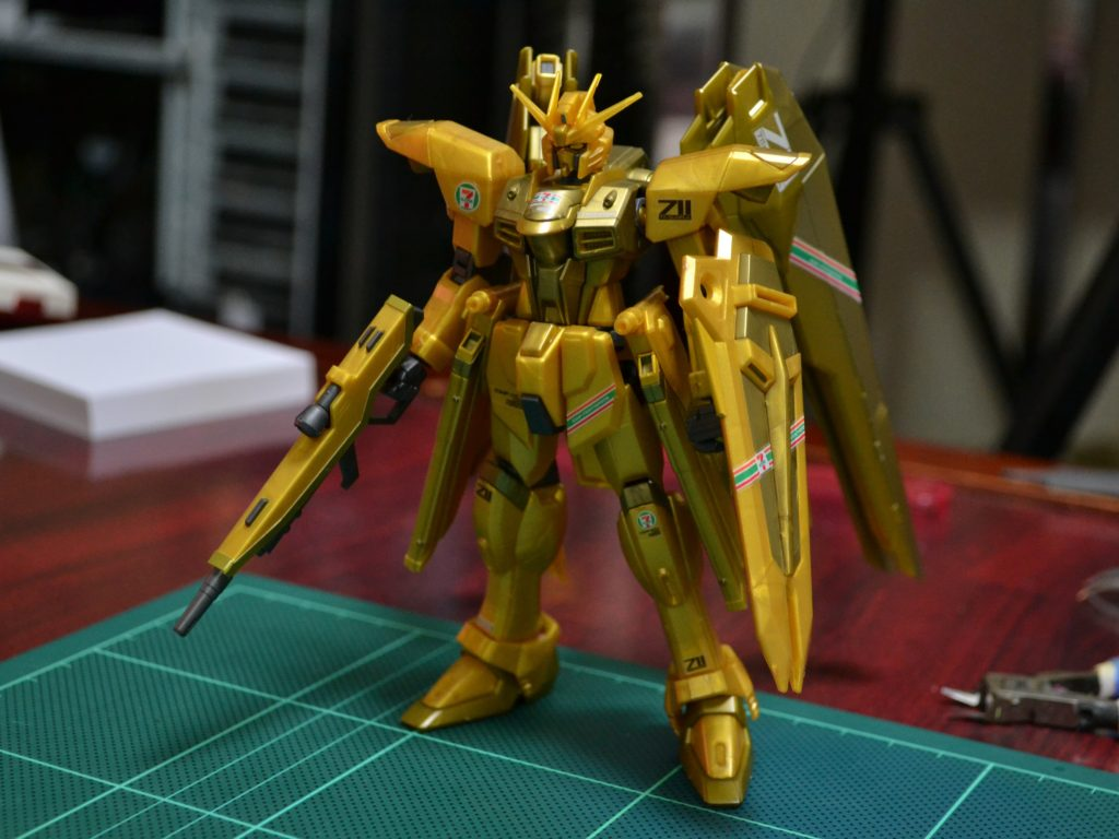 HGCE 1/144 ZGMF-X10A フリーダムガンダム「ゴールドインジェクションカラー」[FREEDOM GUNDAM GOLD INJECTION COLOR] 正面