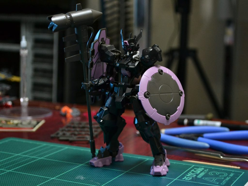 HG 1/144 ASW-G-47 ガンダムウヴァル [Gundam Vual] 正面