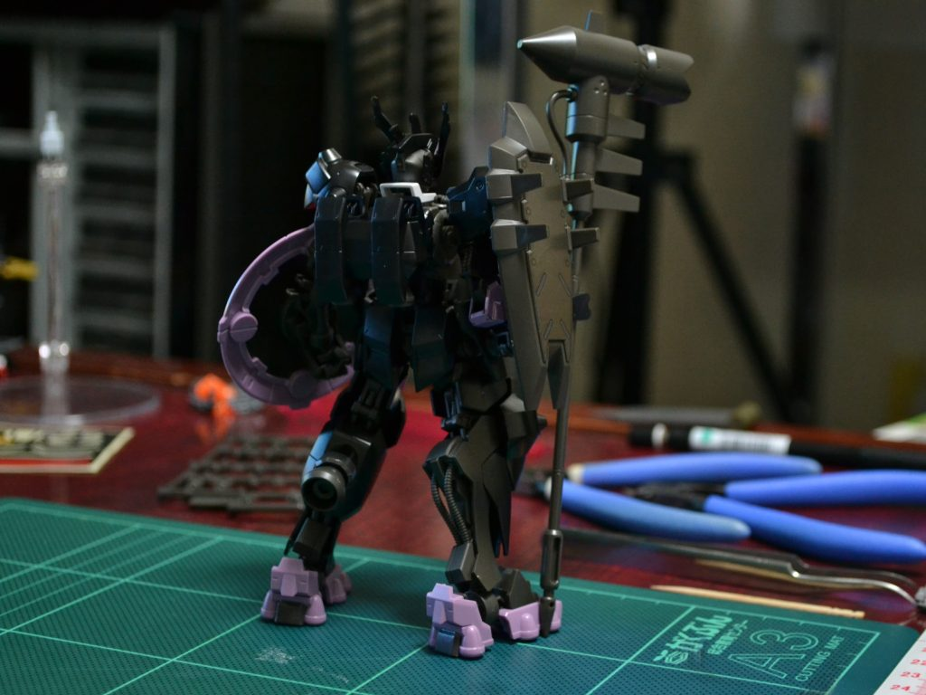 HG 1/144 ASW-G-47 ガンダムウヴァル [Gundam Vual] 背面