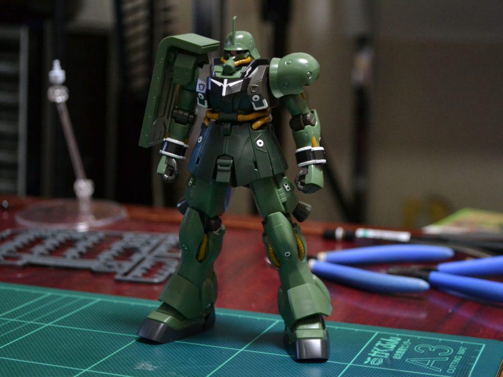 HGUC 1/144 AMS-129 ギラ・ズール [Geara Zulu] 正面