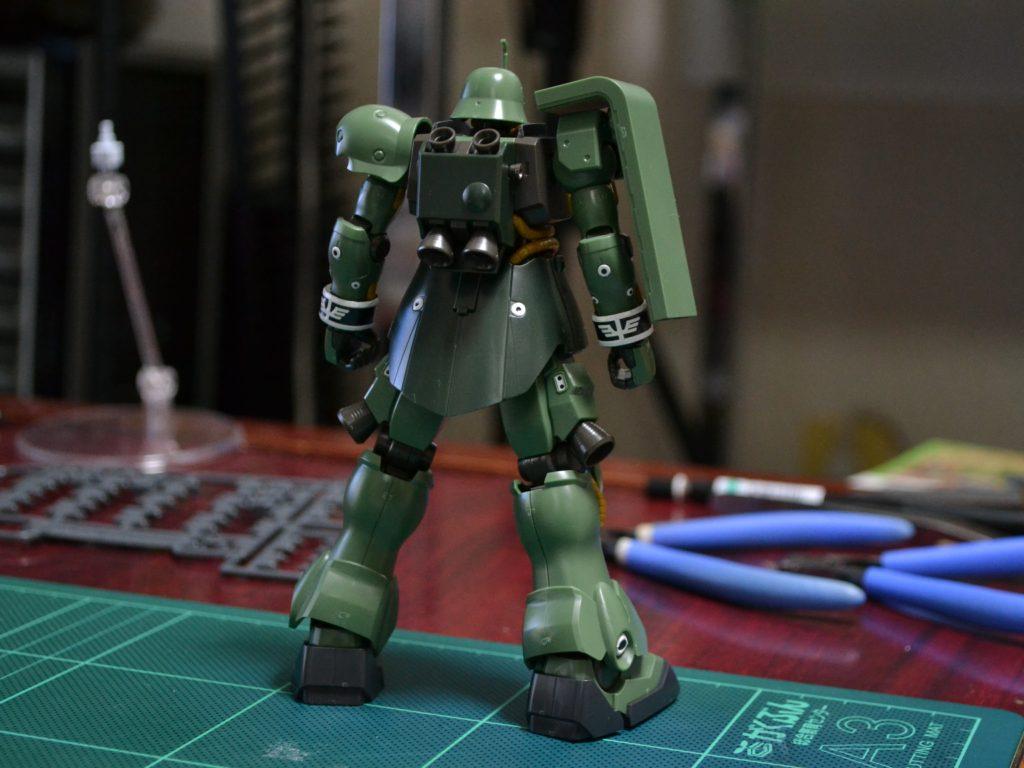 HGUC 1/144 AMS-129 ギラ・ズール [Geara Zulu] 背面