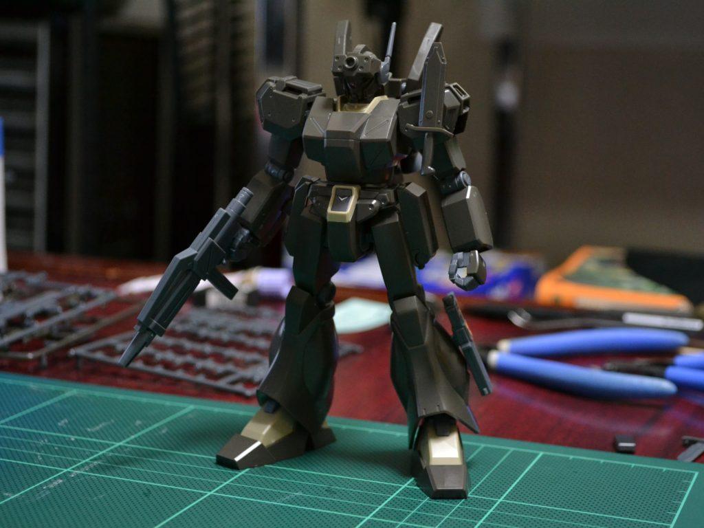 RGM-89De ジェガン [エコーズ仕様機 コンロイ・ハーゲンセン専用機] [Jegan (ECOAS Type Conroy Haagensen Custom)] 正面