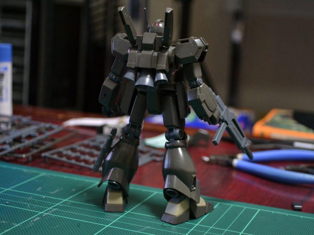 RGM-89De ジェガン [エコーズ仕様機 コンロイ・ハーゲンセン専用機] [Jegan (ECOAS Type Conroy Haagensen Custom)] 背面