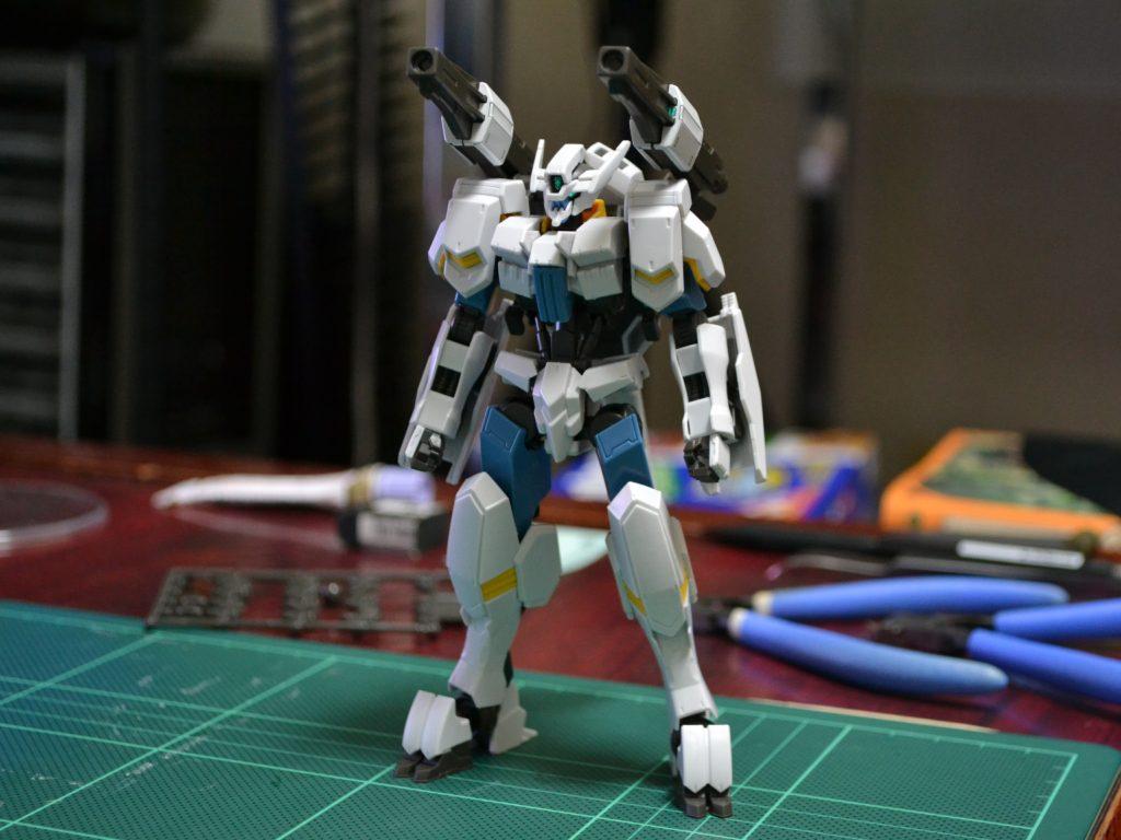 HG 1/144 ASW-G-64 ガンダムフラウロス(厄祭戦時) [Gundam Flauros (Calamity War Type)] 正面