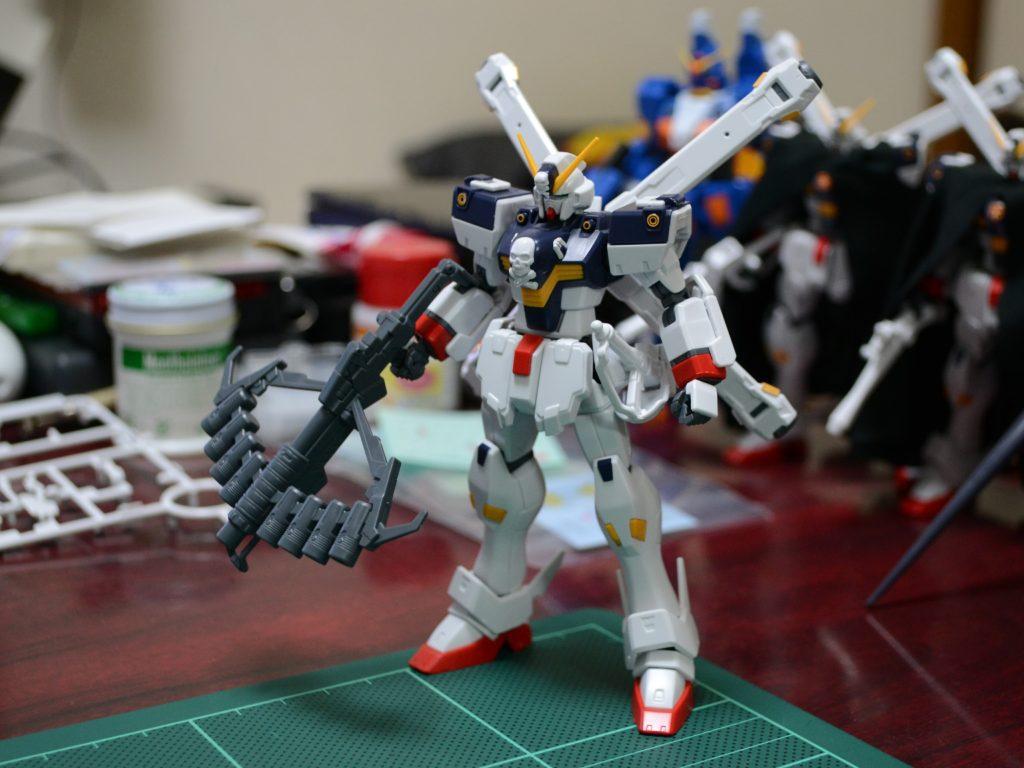 HGUC 1/144 XM-X1 クロスボーン・ガンダムX1改・改(スカルハート)[Crossbone Gundam X1 Custom II] 正面