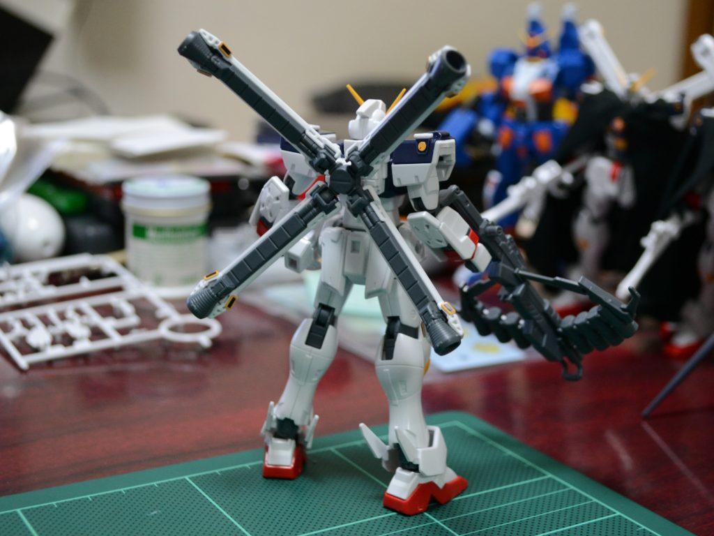 HGUC 1/144 XM-X1 クロスボーン・ガンダムX1改・改(スカルハート)[Crossbone Gundam X1 Custom II] 背面