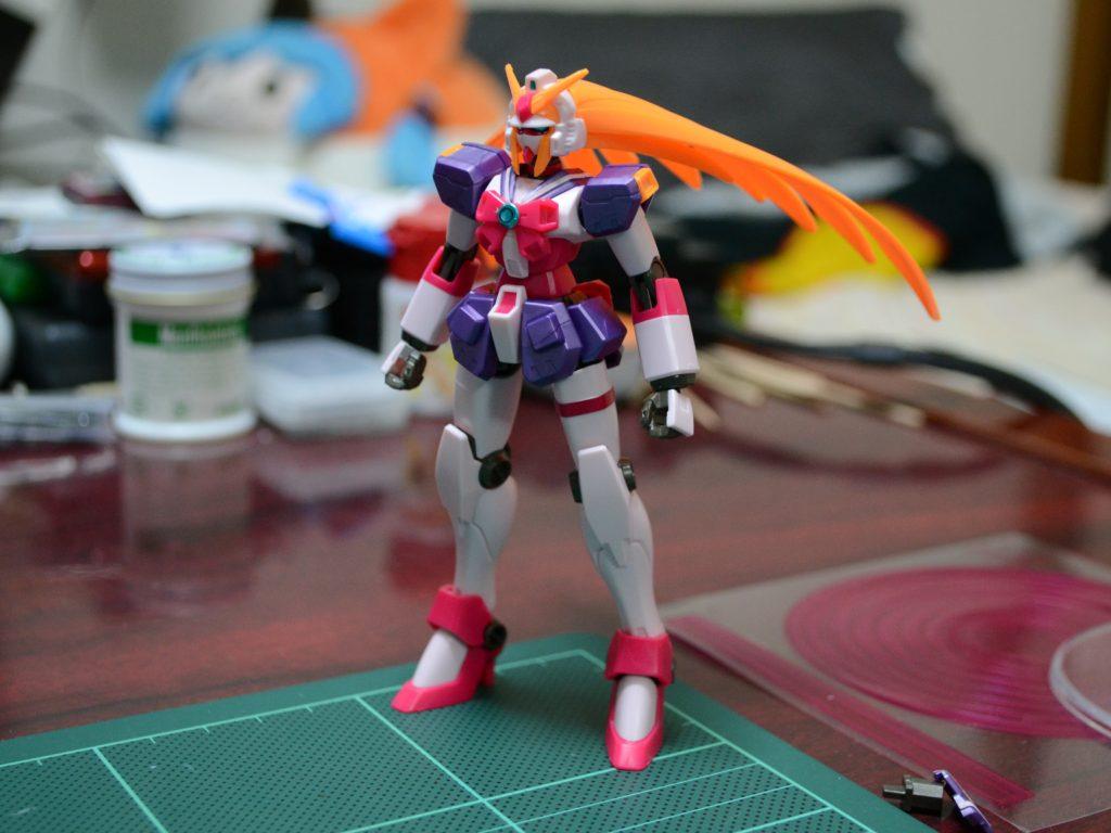 HGFC 1/144 GF13-050NSW ノーベルガンダム(バーサーカーモード) [Nobell Gundam Berserker Mode] 正面