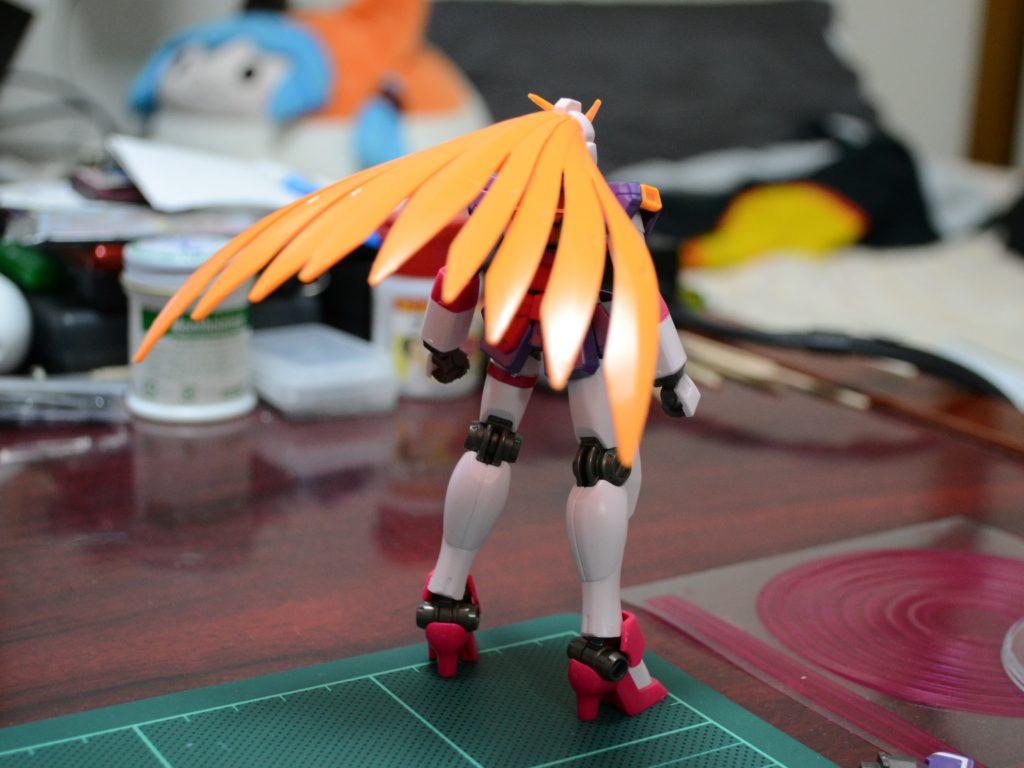 HGFC 1/144 GF13-050NSW ノーベルガンダム(バーサーカーモード) [Nobell Gundam Berserker Mode] 背面
