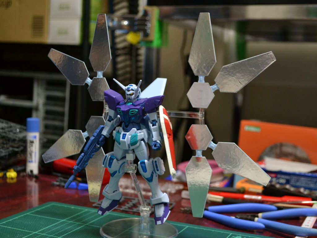 HG 1/144 YG-111 Gセルフ(リフレクターパック装備型) [Gundam G-Self Reflector Pack] 正面