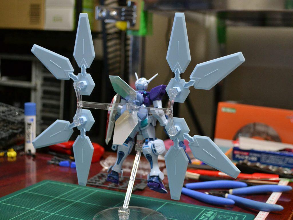 HG 1/144 YG-111 Gセルフ(リフレクターパック装備型) [Gundam G-Self Reflector Pack] 背面