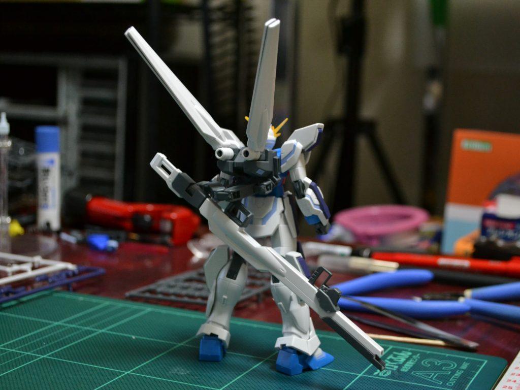 HGBF 1/144 GX-9999 ガンダムX魔王 [Gundam X Maoh] 背面