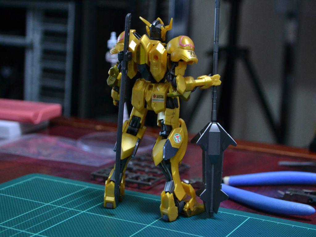 HG 1/144 ガンダムバルバトス「ゴールドインジェクションカラー」[GUNDAM BARBATOS GOLD INJECTION COLOR] 背面