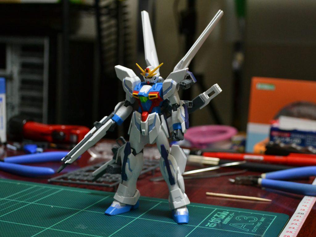 HGBF 1/144 GX-9999 ガンダムX魔王 [Gundam X Maoh] 正面