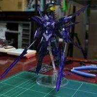 HGBF 1/144 GN-10000 トランジェントガンダムグレイシャー [Transient Gundam Glacier]