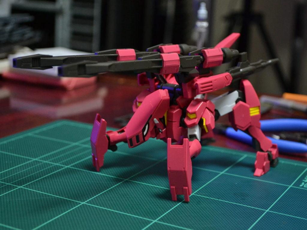 HG 1/144 ASW-G-64 ガンダムフラウロス(流星号) [Gundam Flauros (Ryusei-Go)] 正面