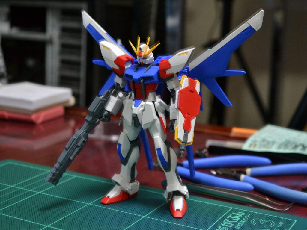 HGBF 1/144 GAT-X105B/FP  ビルドストライクガンダム フルパッケージ [Build Strike Gundam Full Package] 正面