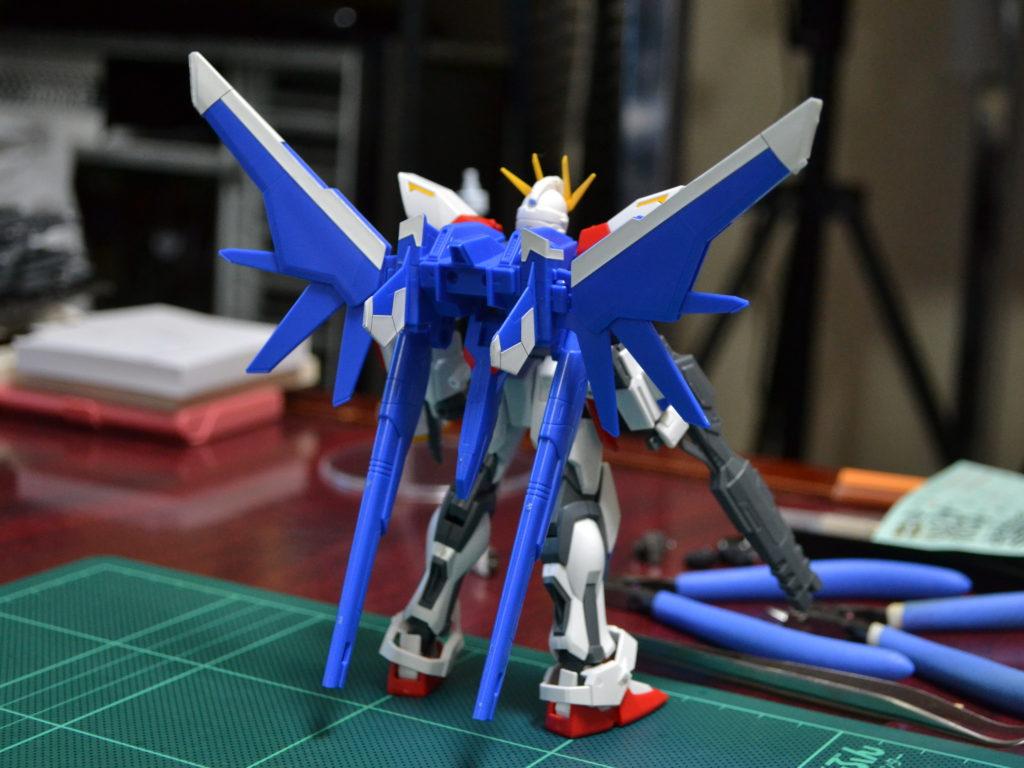 HGBF 1/144 GAT-X105B/FP  ビルドストライクガンダム フルパッケージ [Build Strike Gundam Full Package] 背面