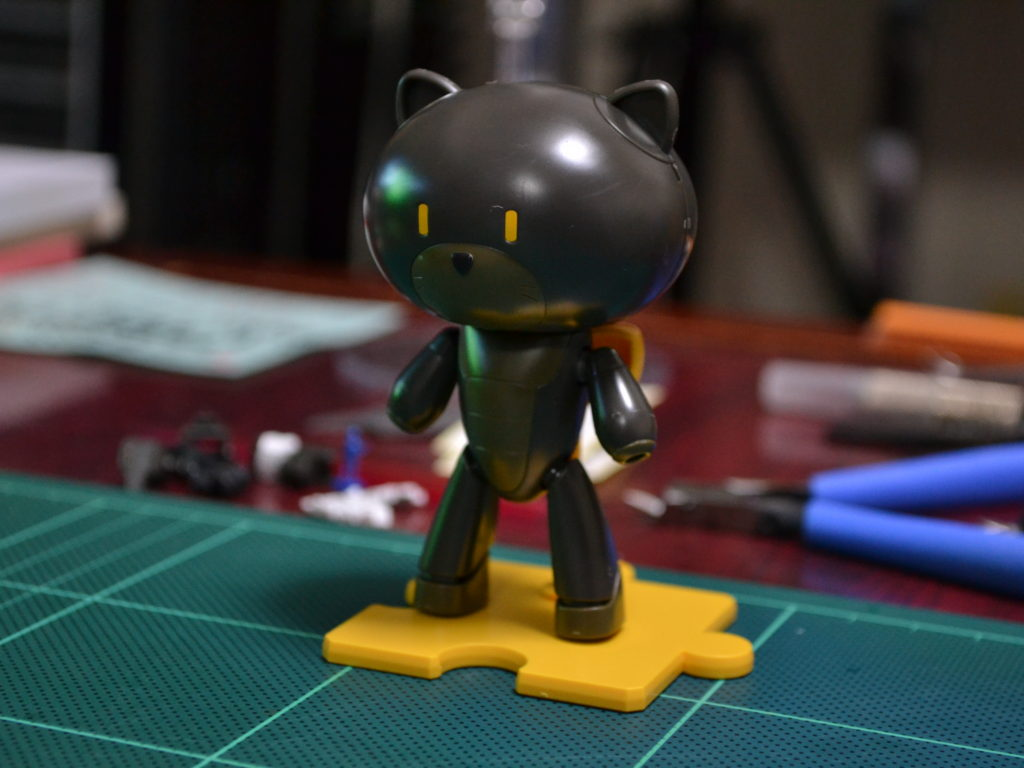 HGPG 1/144 プチッガイ ストレイブラック&キャットコス [Petit'gguy Stray Black & Cat Cos] 正面