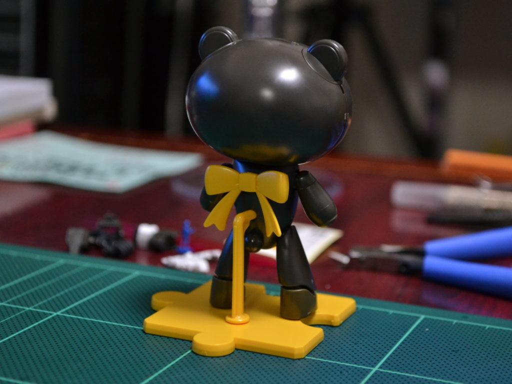 HGPG 1/144 プチッガイ ストレイブラック&キャットコス [Petit'gguy Stray Black & Cat Cos] 背面