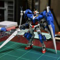 RG 1/144 GN-0000/7S ダブルオーガンダム セブンソード [00 Gundam Seven Sword]