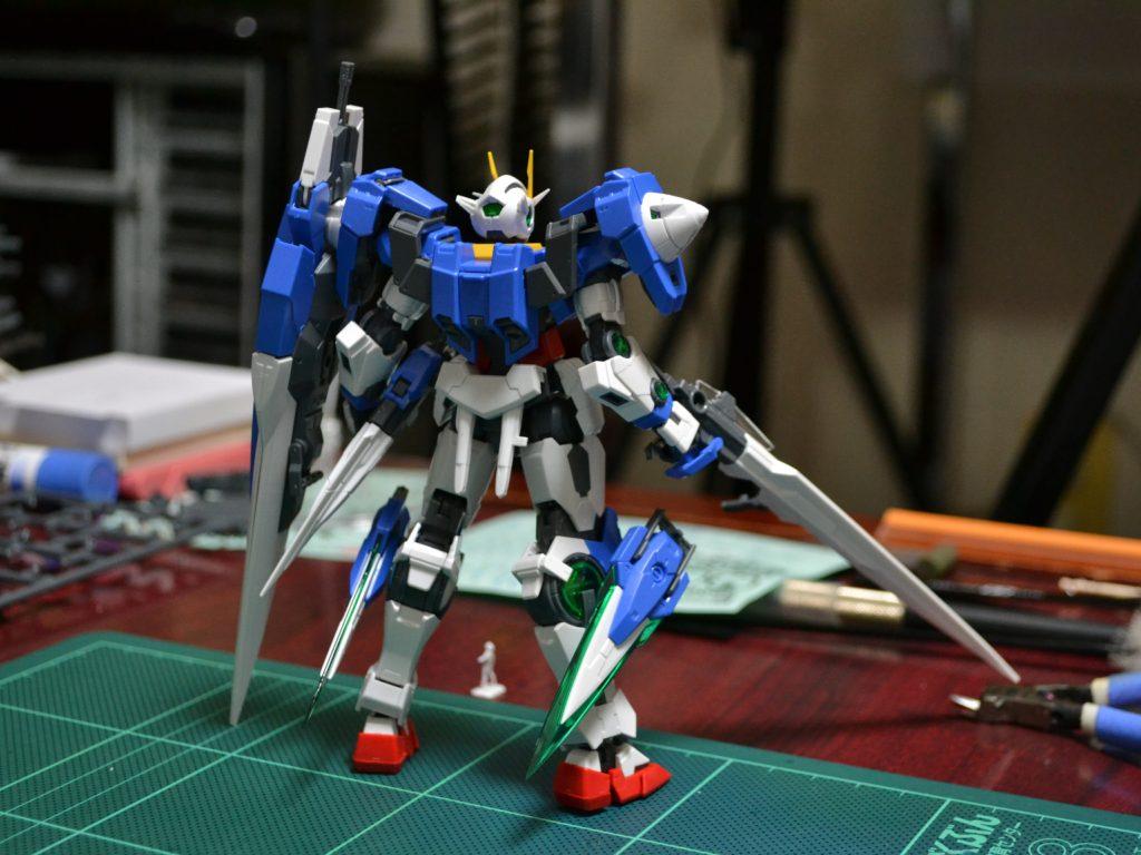 RG 1/144 GN-0000/7S ダブルオーガンダム セブンソード [00 Gundam Seven Sword] 4549660136798 背面