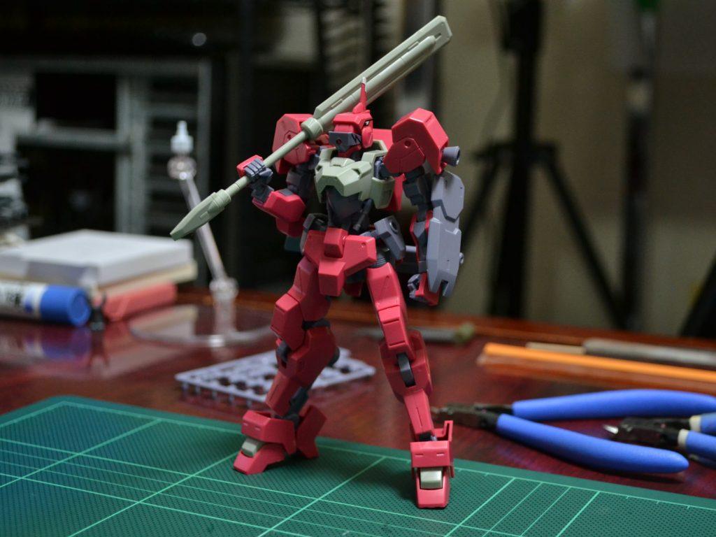 HG 1/144 STH-16/tc イオフレーム獅電改(流星号) [Io Frame Shiden Custom (Ryusei-Go)] 正面