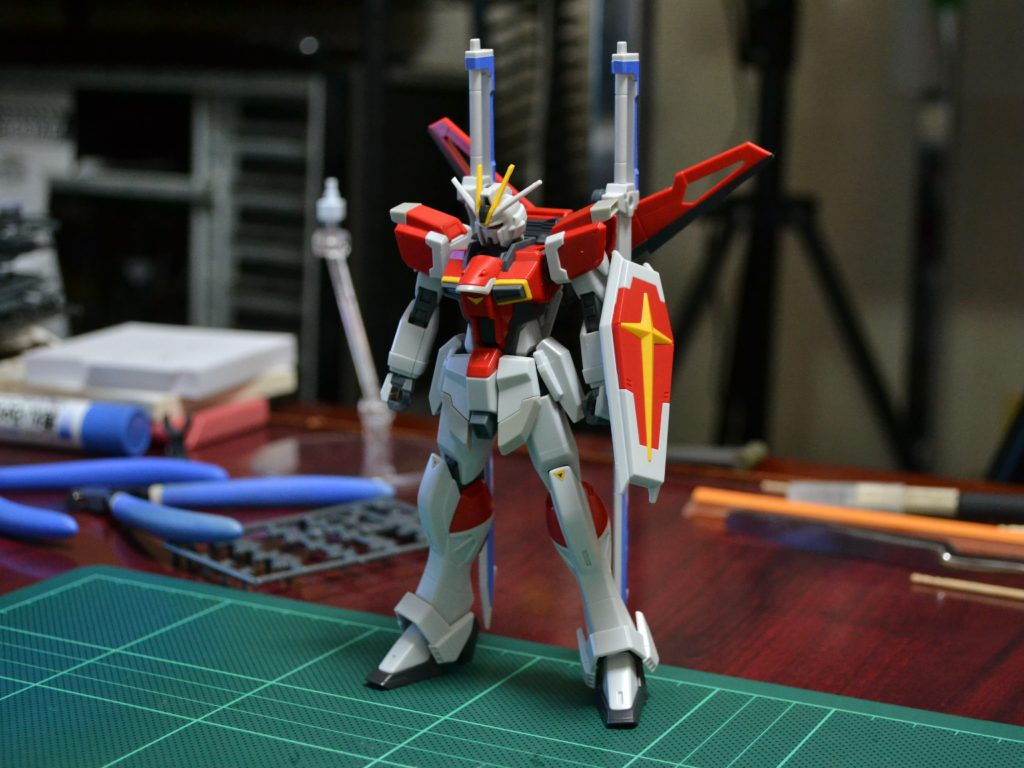 HGCE 1/144 REVIVE ZGMF-X56S/β ソードインパルスガンダム 正面