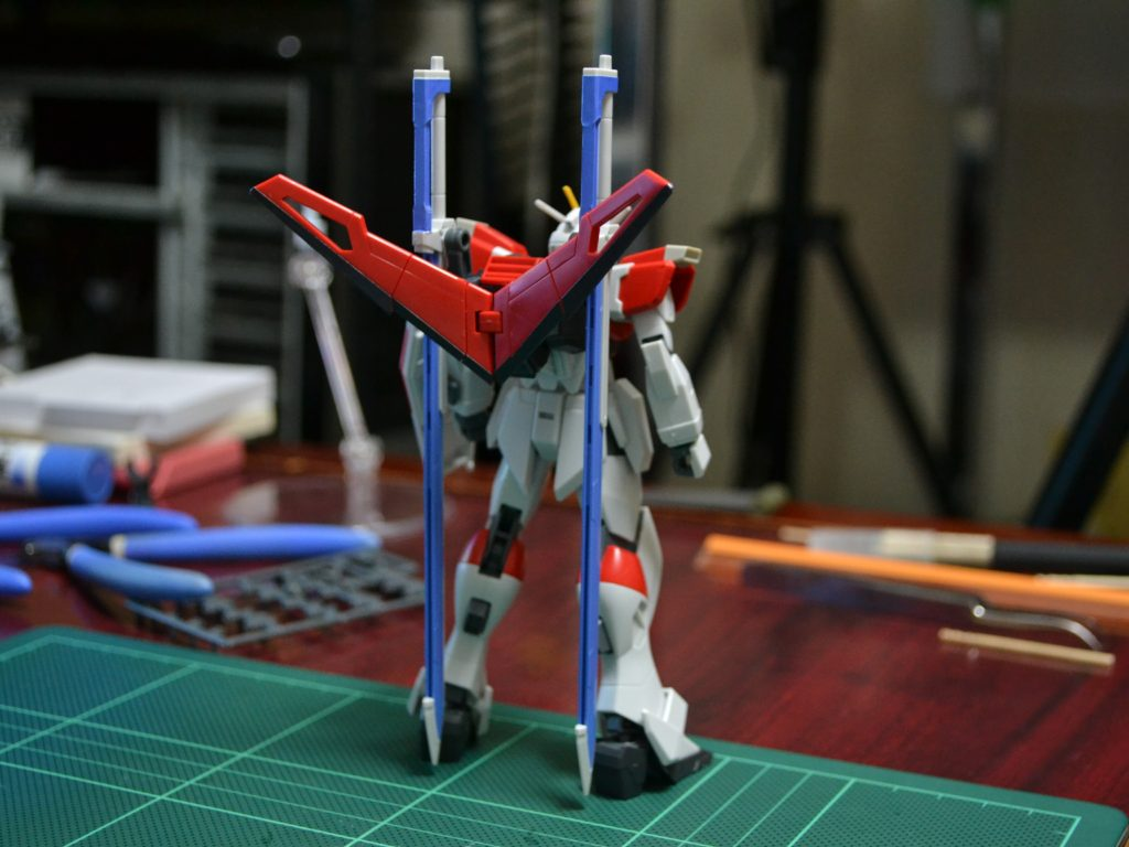 HGCE 1/144 REVIVE ZGMF-X56S/β ソードインパルスガンダム 背面