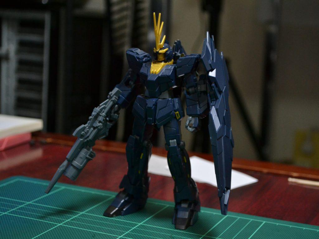 HGUC 1/144 RX-0[N] ユニコーンガンダム2号機 バンシィ・ノルン(ユニコーンモード) [Unicorn Gundam 02 Banshee Norn (Unicorn Mode)] 正面