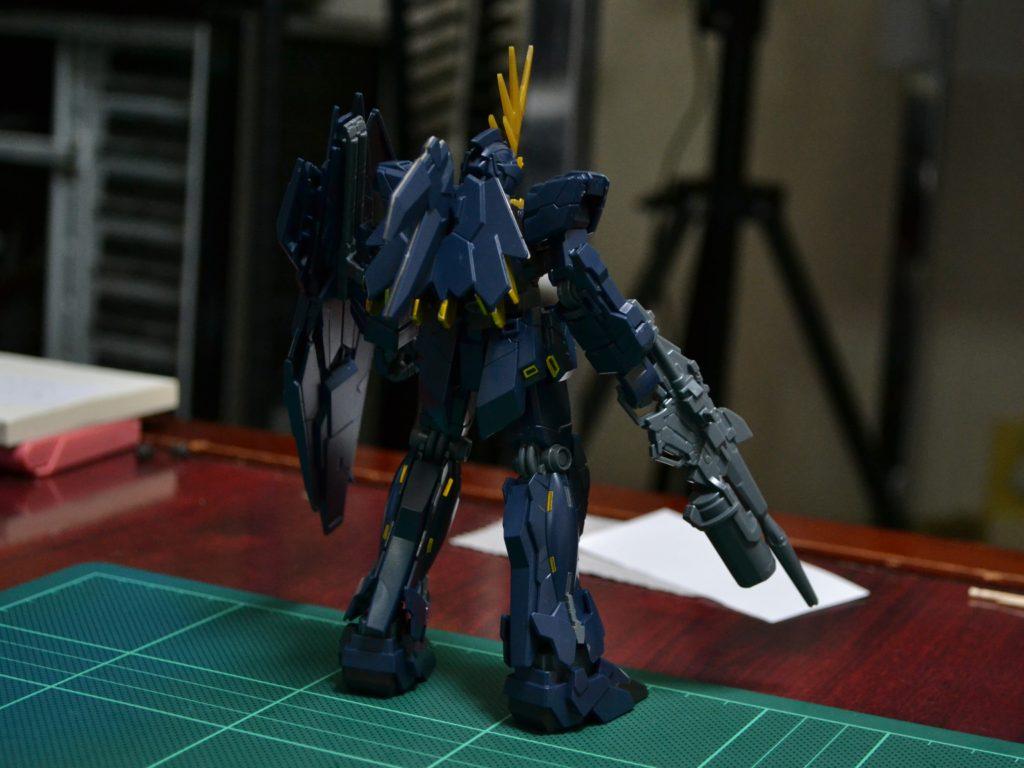 HGUC 1/144 RX-0[N] ユニコーンガンダム2号機 バンシィ・ノルン(ユニコーンモード) [Unicorn Gundam 02 Banshee Norn (Unicorn Mode)] 背面