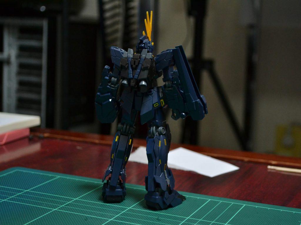 HGUC 1/144 RX-0 ユニコーンガンダム2号機 バンシィ(ユニコーンモード) [Unicorn Gundam 02 Banshee (Unicorn Mode)] 背面