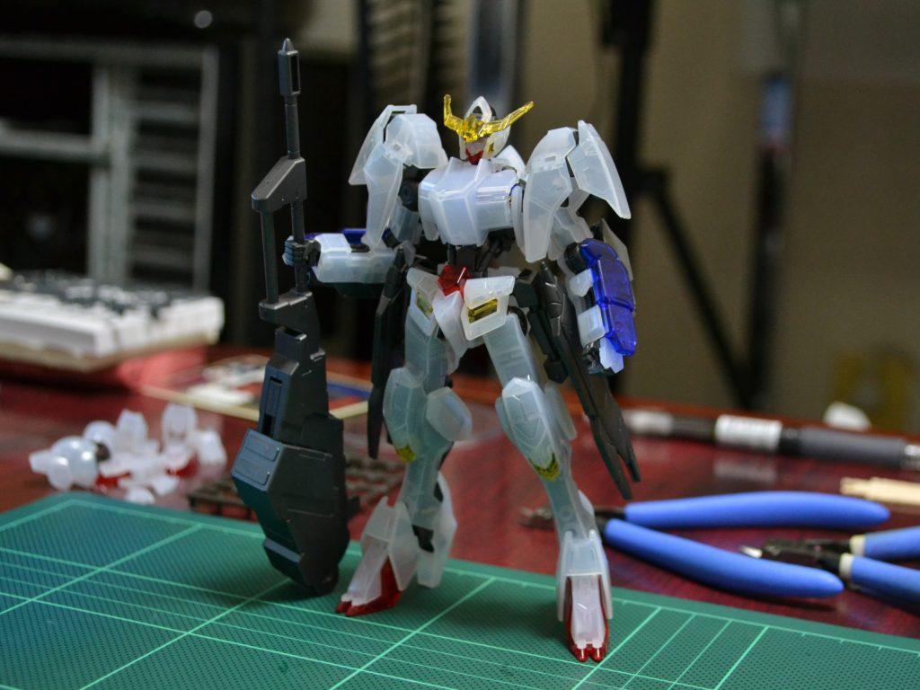 HG 1/144 ガンダムバルバトス第6形態クリアカラーVer. 正面