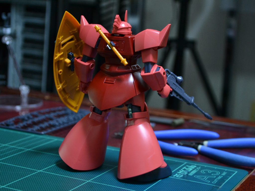 HGUC 1/144 MS-14S シャア専用ゲルググ [Gelgoog (Char Aznable Custom)] 背面