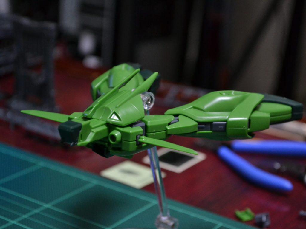 HGUC 1/144 AMX-107 バウ(量産型) 正面
