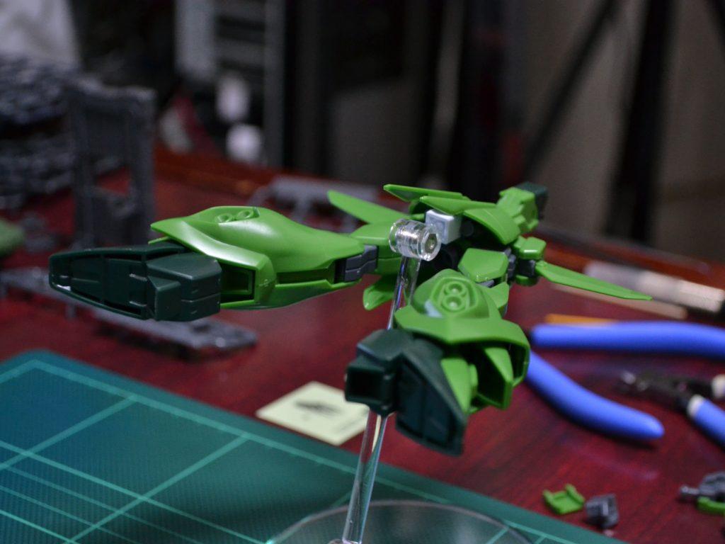 HGUC 1/144 AMX-107 バウ(量産型)[BAWOO] 背面