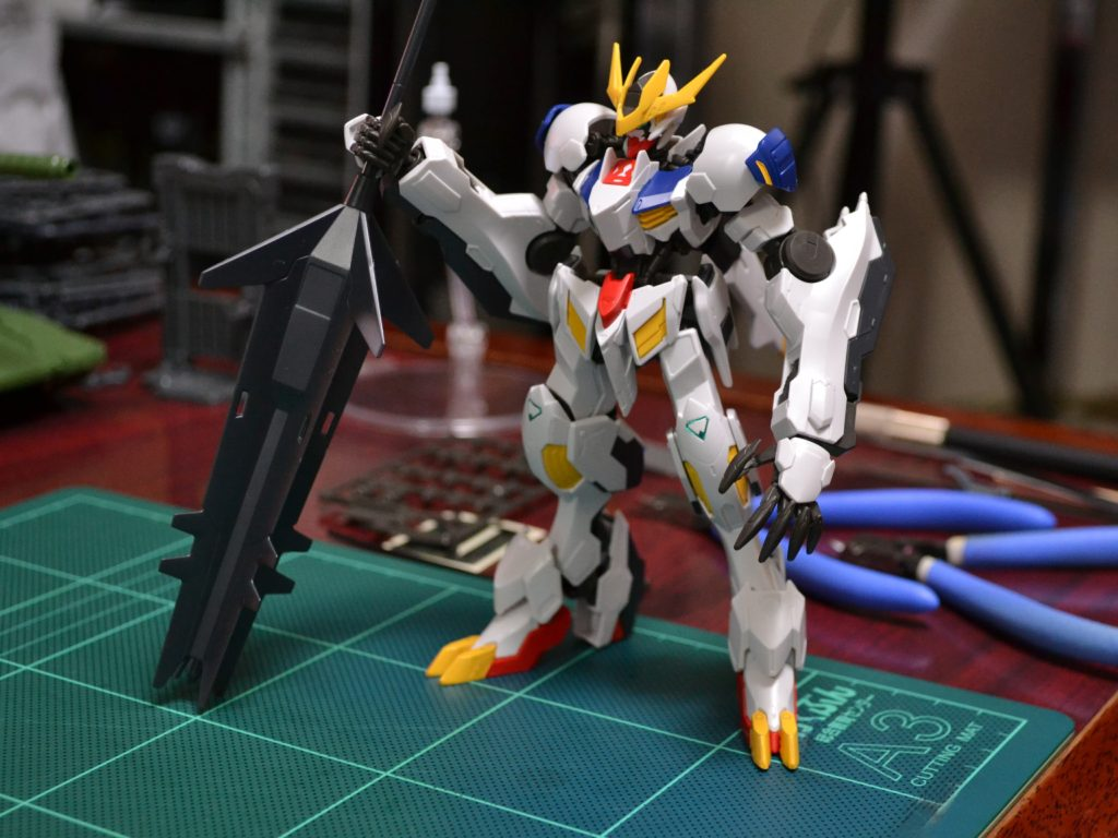HG 1/144 ASW-G-08 ガンダムバルバトスルプスレクス [Gundam Barbatos Lupus Rex] 正面