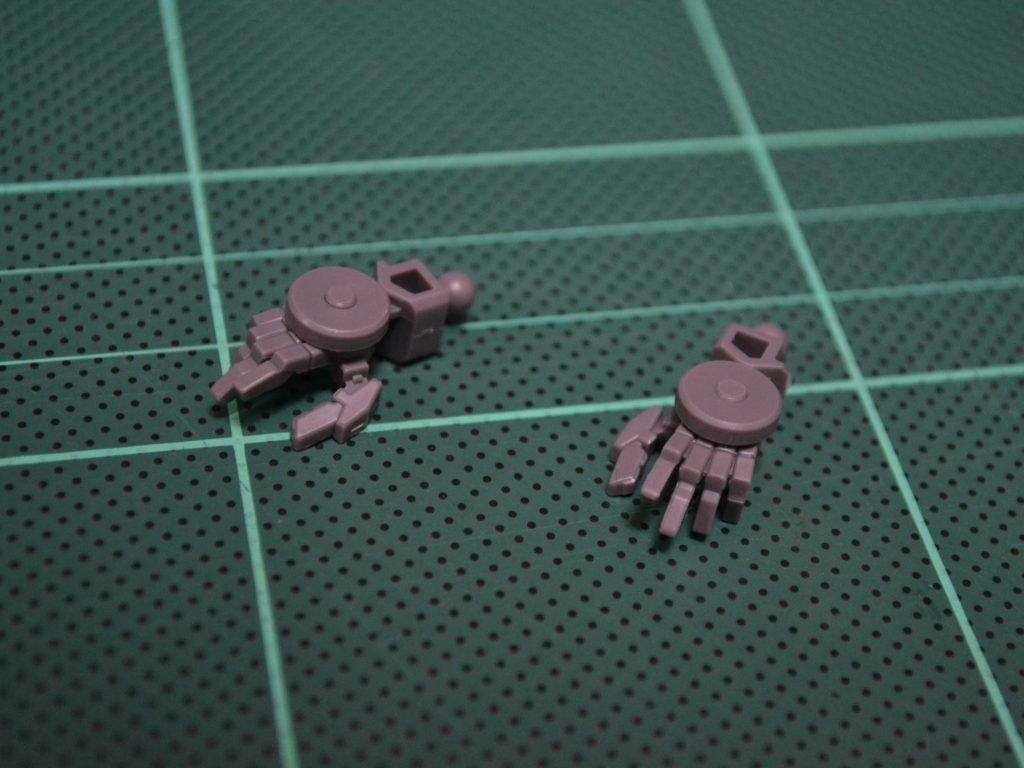HG 1/144 MSオプションセット8&SAUモビルワーカー  [MOBILE SUIT OPTION SET 8 & SAU MOBILE WORKER] 背面